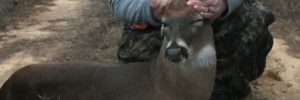 Top Secret Buck Held in Field
