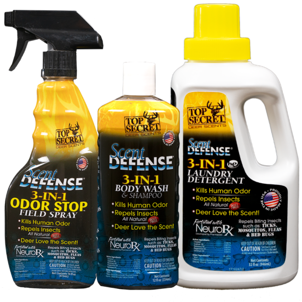 Top Secret Scent Defense Pack