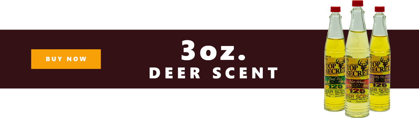 Top Secret Deer Scents 3 oz Bottles Slider