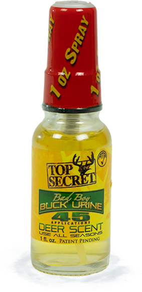 Top Secret Deer Scents Bad Boy Buck Urine Bottle