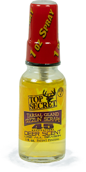 Top Secret Deer Scents Tarsal Gland Sizzlin Scrape